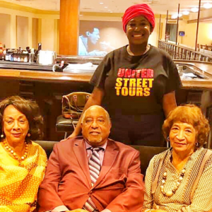 Chakita Patterson, Founder of United Street Tours with Nashville Civil Rights Leaders (4)